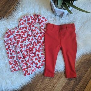 Joe Fresh Valentine Shirt & Pant Set